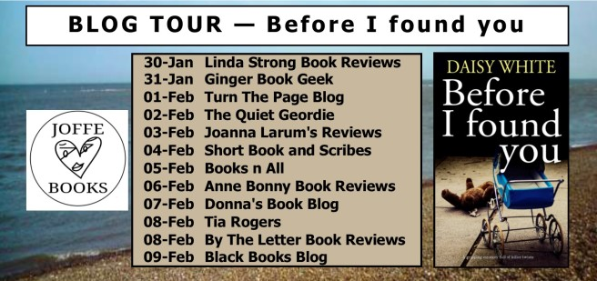 Blog Tour BANNER - before I found you