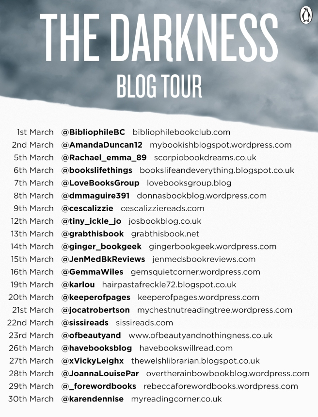 Blog Tour for The Darkness