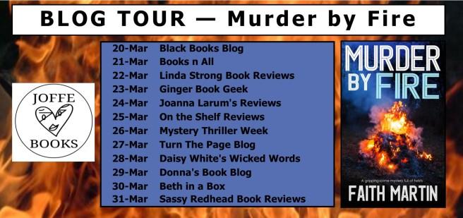 BLOG TOUR - Murder by Fire