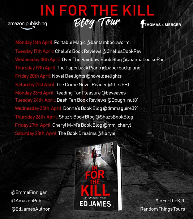 In For The Kill Blog Tour Poster
