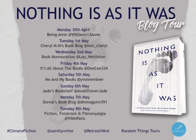 Nothing Is As it Was Blog Tour poster