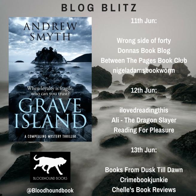 Blog Blitz Banner - Grave Island