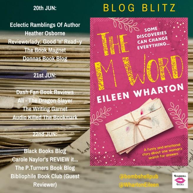 Blog Blitz Banner - The M Word