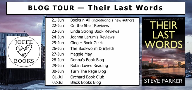 Blog tour - Their Last Words