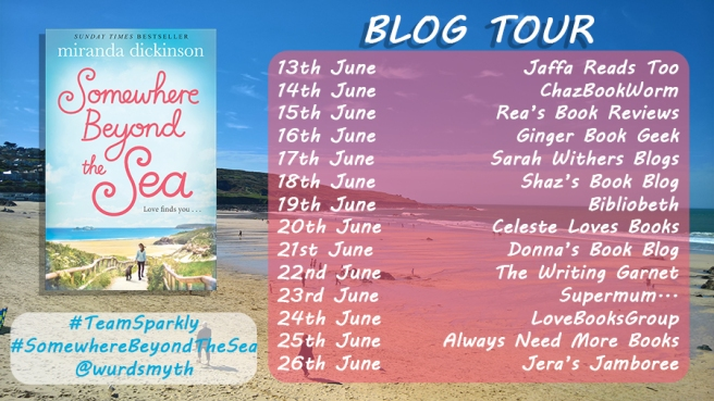 Somewhere Beyond the Sea blog tour banner