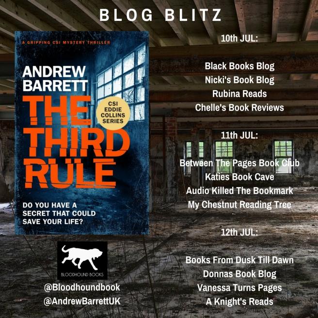 Blog Blitz Banner - The Third Rule