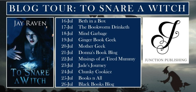 BLOG TOUR Banner - To Snare a Witch