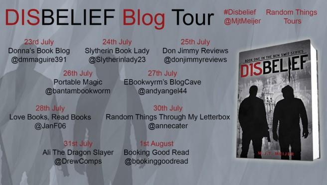 Disbelief Blog Tour Poster