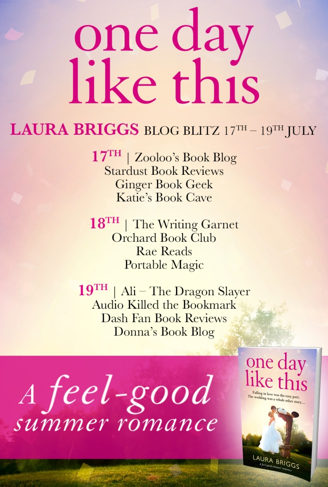One Day Like This - Blog Tour