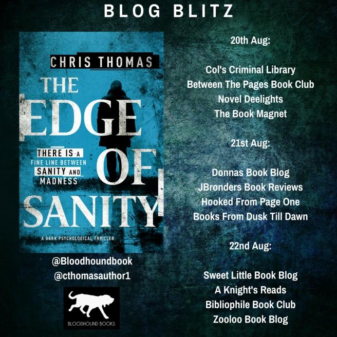 Blog Blitz Banner - The Edge of Sanity