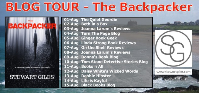 BLOG TOUR banner - The Backpacker