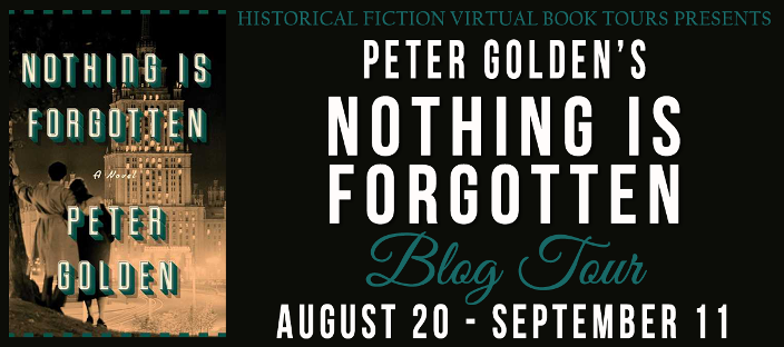 Blogtour For Nothing Is Forgotten By Peter Golden