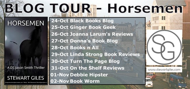 BLOG TOUR banner - HORSEMEN