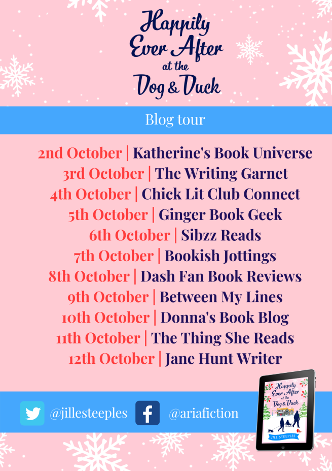 Happily Ever After at the Dog and Duck blog poster