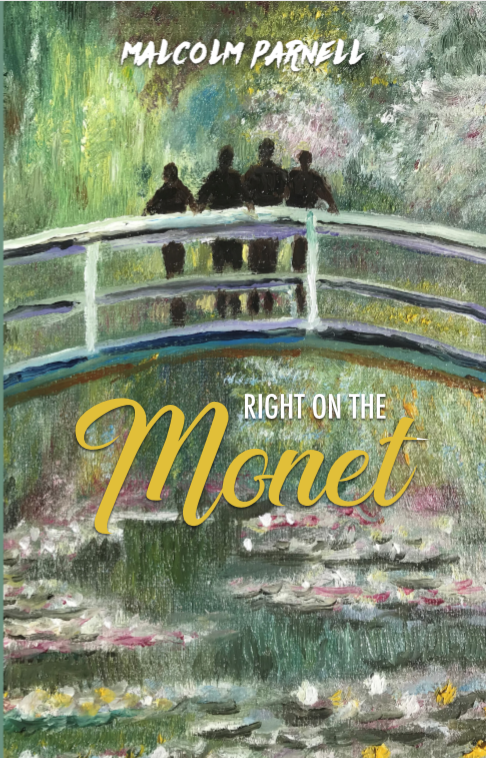 Right on the Monet Cover