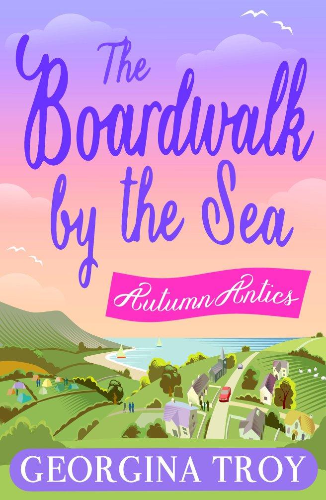 The Boardwalk by the Sea - Autumn Antics by Georgina Troy.jpg
