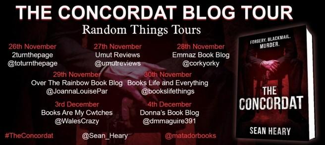 The Concordat Blog Tour Poster