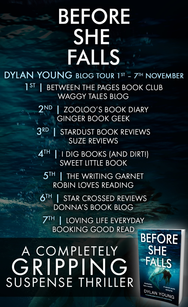 Before She Falls - Blog Tour