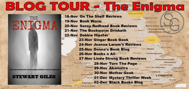 Blog Tour Banner - The Enigma