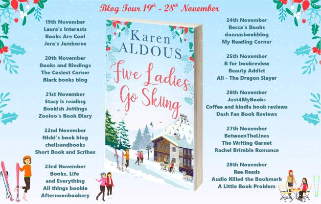 Five Ladies Go Skiing Full Tour Banner