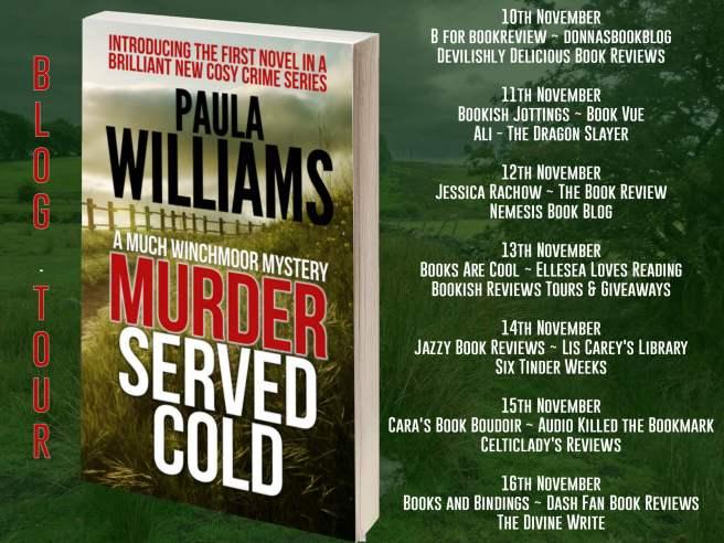 Murder Served Cold Full Tour Banner