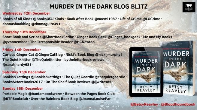 murder in the dark blog blitz banner