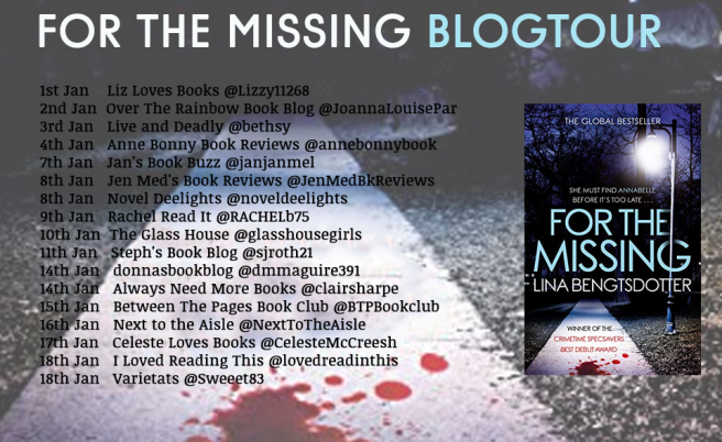 For The Missing Blog Tour Poster