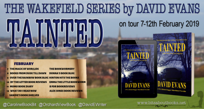TAINTED - David Evans - Blog Tour Poster.png