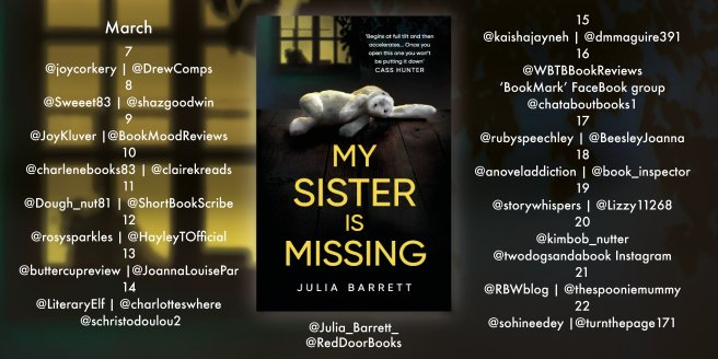 Blog Tour Poster - My Sister is Missing.jpg