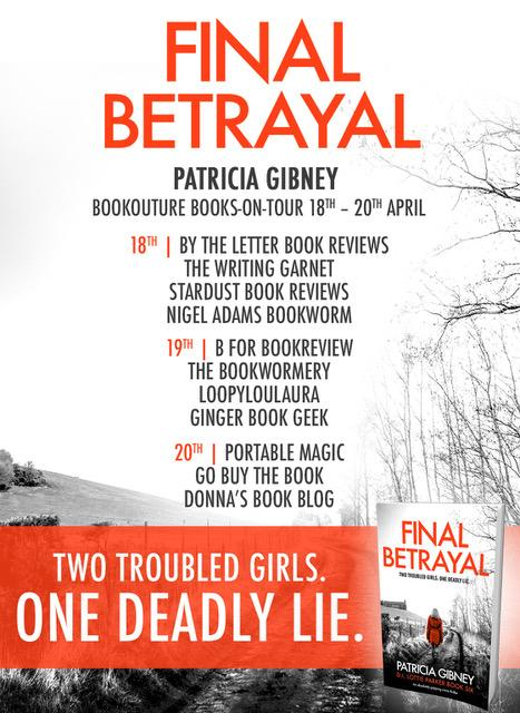 Final Betrayal Books on Tour Poster