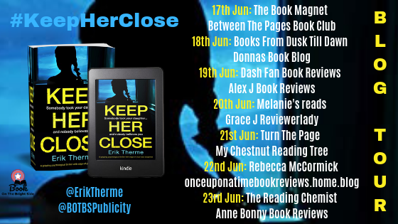 Blog Tour Poster - Keep Her Close