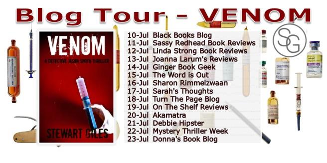 Blog Tour - Venom