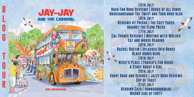 Jay-Jay and the Carnival Full Tour Banner