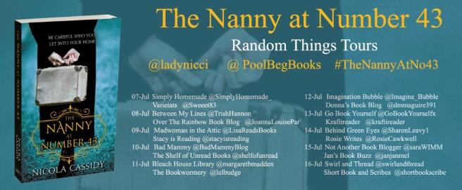 Nanny at Number 43 BT Poster