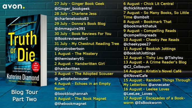 Truth or Die Blog Tour Banner