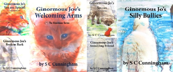 6 GINORMOUS SERIES by S C CUNNINGHAM