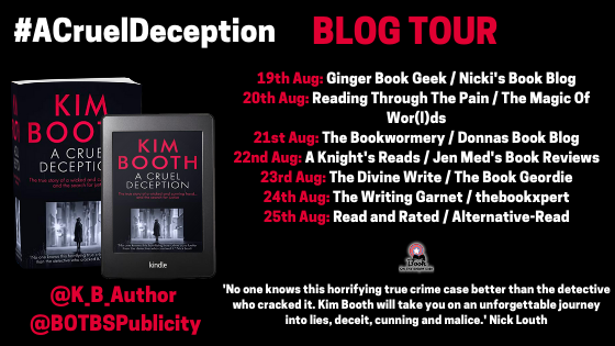 Blog Tour Banner - A Cruel Deception