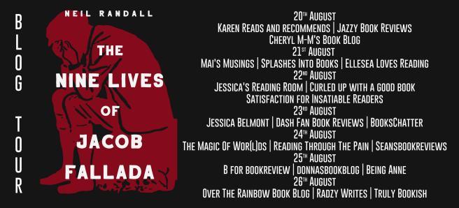 The Nine Lives of Jacob Fallada Full Tour Banner