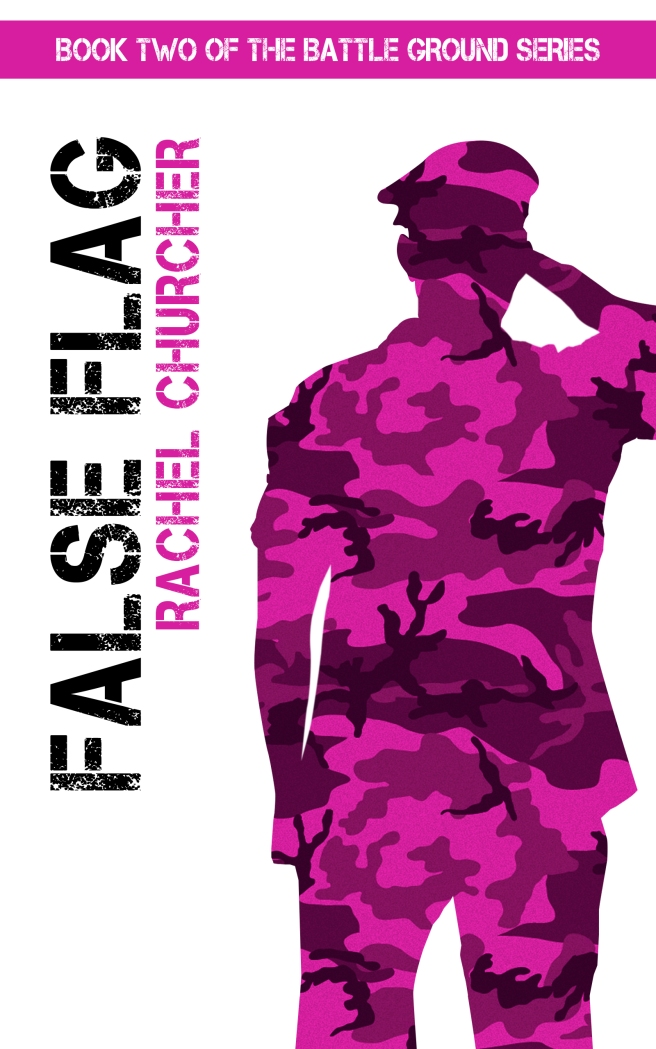 False Flag Rachel Churcher cover