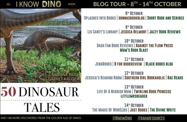 50 Dinosaur Tales Full Tour Banner