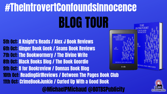 BLOG TOUR - The Introvert Confounds Innocence