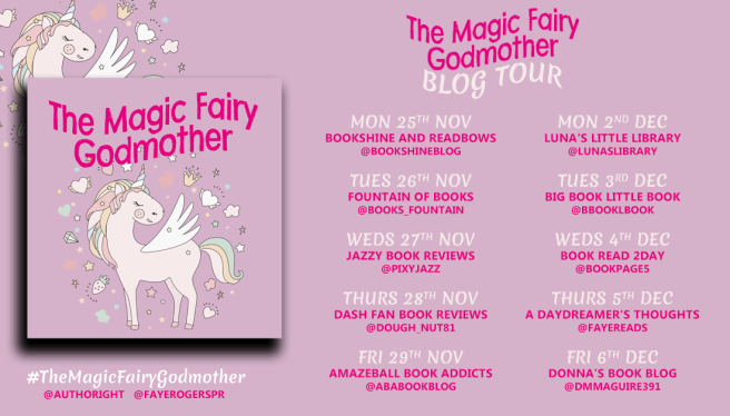 The Magic Fairy Godmother Banner1