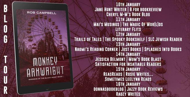 Monkey Arkwright Full Tour Banner