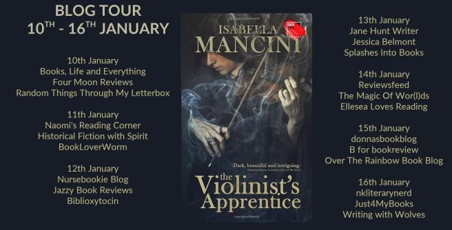 The Violinists Apprentice Full Tour Banner