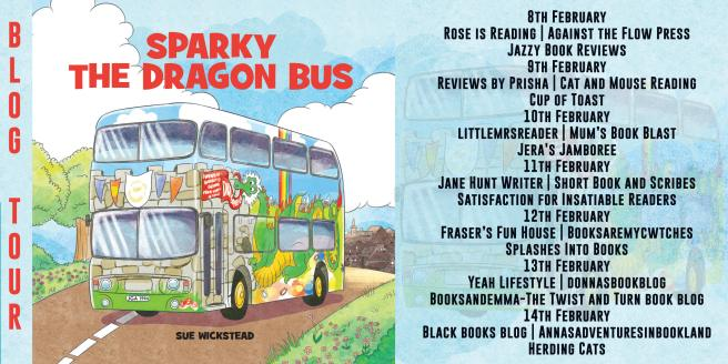 Sparky The Dragon Bus Full Tour Banner