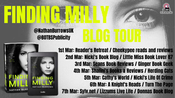 Blog Tour Poster - Finding Milly