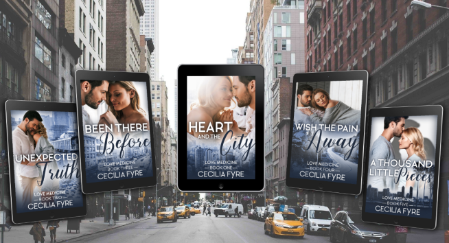 Hearr and the City - Giveaway - five books graphic