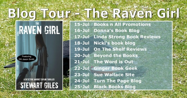 Blog Tour Banner -- Raven Girl