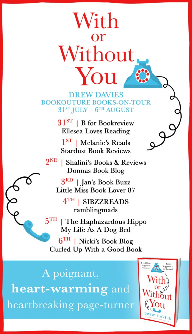 With or Without You - Blog tour